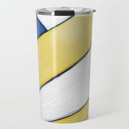 Volleyball Art Travel Mug