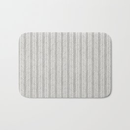Mud cloth - Grey Arrowheads Bath Mat