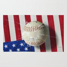 Baseball - New York, New York Rug