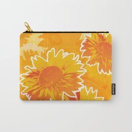 Sunflower Jubilee Carry-All Pouch