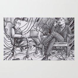 Hannibal/POI : Brilliant Minds Rug