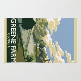Greene Farm, GA / The Walking Dead Rug