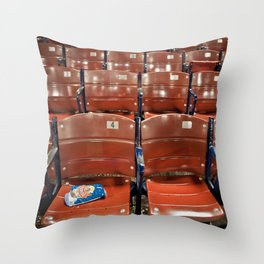 Fenway Park Seats Throw Pillow