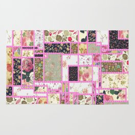 Quilt patterns style Rug