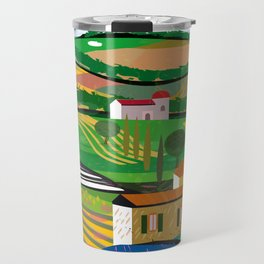 Green Fields Travel Mug