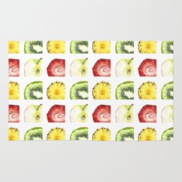Fruit Slices Pattern Rug
