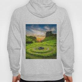 Fairytale Landscape, Isle of Skye, Scotland Hoody