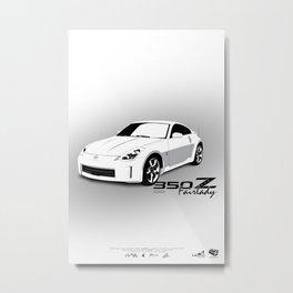 350Z Metal Print