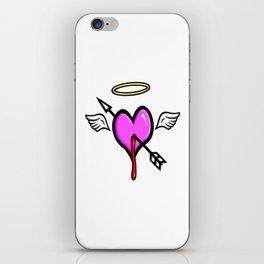 Cupids Heart iPhone Skin