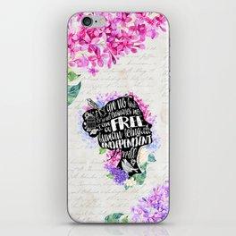 Jane Eyre - No Bird iPhone Skin