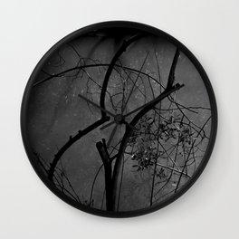 Eerie Woods Wall Clock