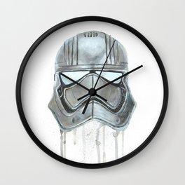 Captain Phasma - Empty Masks Wall Clock