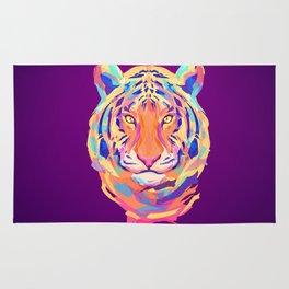 Neon tiger Rug
