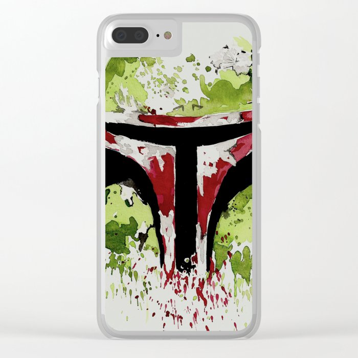 Bounty Hunter Clear iPhone Case