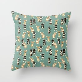 Chihuahuas Throw Pillow