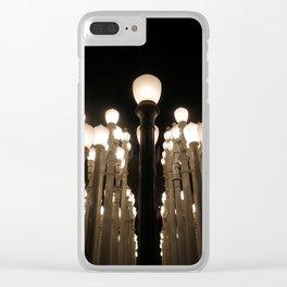 Urban Light Clear iPhone Case