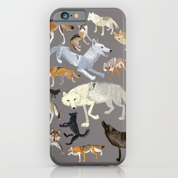 Wolves of the world 1 iPhone Case