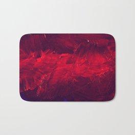 Modern Art - Dark Red Throw Pillow - Jeff Koons Inspired - Postmodernism Bath Mat