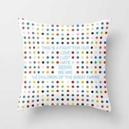Thirty Seconds To Mars ; Conquistador Throw Pillow
