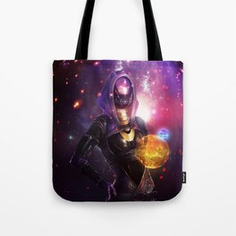 Tali'Zorah vas Normandy (Mass Effect) Art Tote Bag