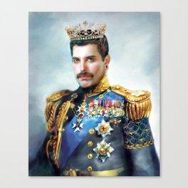 Portrait of the Queen Canvas Print