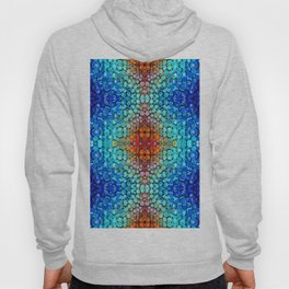 Inner Vision - Colorful Spiritual Abstract Art By Sharon Cummings Hoody