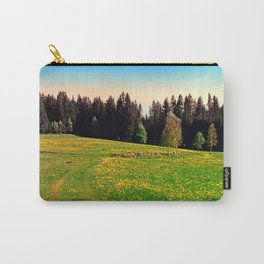 Outdoors in sunny spring Carry-All Pouch