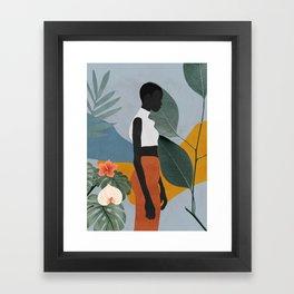 Tropical Girl 5 Framed Art Print