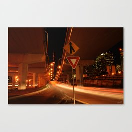 Turnpike Canvas Print