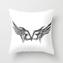 bvb Throw Pillow