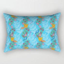 Sweet Lovey Birdies Rectangular Pillow