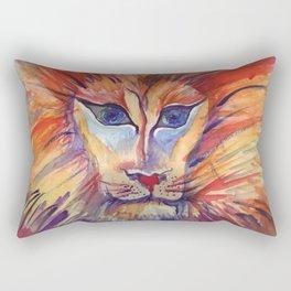 Furrowed like a Lioness Rectangular Pillow