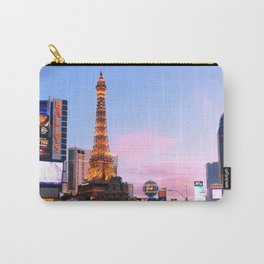 Las Vegas Strip at sunset Carry-All Pouch