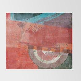 Di Lambretta a Milano (Lambretta in Milan) Throw Blanket