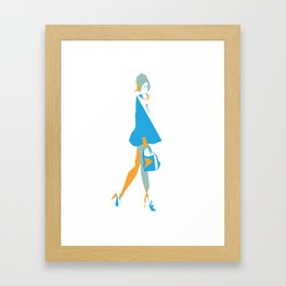 Lady of Fashion Framed Art Print