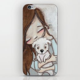 Love Changes Everything by Diane Duda iPhone Skin