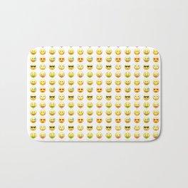 Emoji pattern Bath Mat
