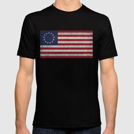 The Betsy Ross flag - Vintage grunge version T-shirt