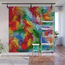 Magic Carpet Ride Abstract Wall Mural