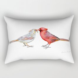 I Grub You by Teresa Thompson Rectangular Pillow