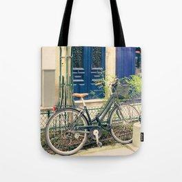 Bicycle in the Marais, Paris Tote Bag