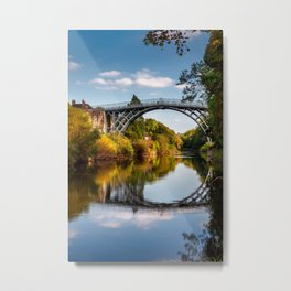 IronBridge Shropshire Metal Print