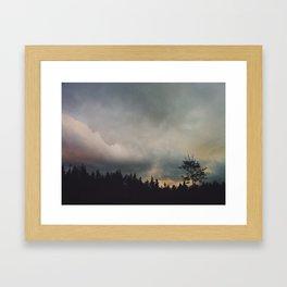 Rolling Sky Framed Art Print