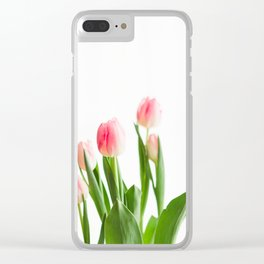 Dose of Spring by Tulips Clear iPhone Case