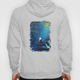Tardis Lost In The Forest Hoody