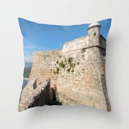 Blue Kingdom Throw Pillow
