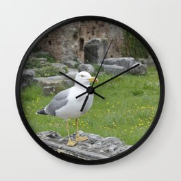 Seagull. Wall Clock