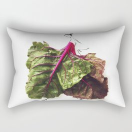 Edible Ensembles: Chard Rectangular Pillow