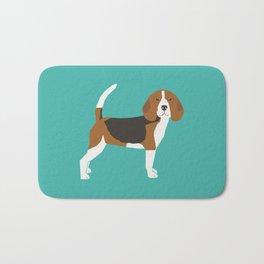 Beagle cute dog gifts pure breed must haves beagles Bath Mat