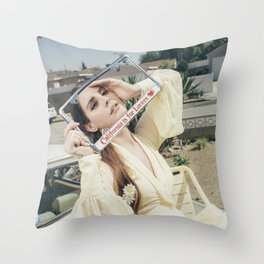 California is for Lovers Throw Pillow